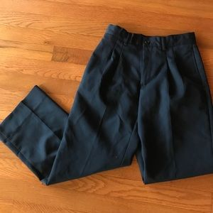 Other - Boys navy Cherokee pleated dress pants